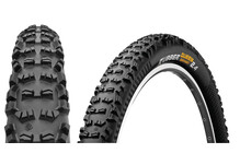 CONTINENTAL Rubber Queen UST - Tubeless Black Chili Tringle So